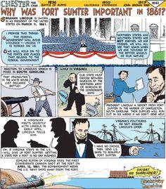 Fort Sumter starts the Civil War