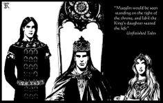 Maeglin, Turgon and Idril by Kasiopea kasiopea.art.pl