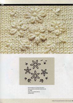 "Photo from album ""pt"" on Yandex. Vintage Crochet Patterns, Knitting Patterns Free, Free Knitting, Wool Embroidery, Embroidery Patterns, Crochet Slippers, Knit Crochet, Big Knit Blanket, Jumbo Yarn"