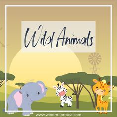 Inspiration And Free Printables For A Wild Animal / African Safari Themed Birthday Party
