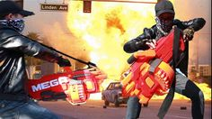 Superhero action Spiderman vs X-Men Nerf guns Army Blood Diamond superhe...