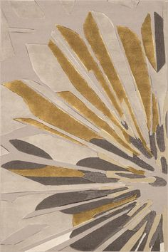 Surya Candice Olson - Modern Classics CAN-2031 Parchment, Elephant Gray, Parsnip Area Rugs