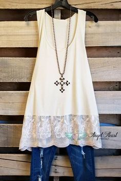 820f9bddff44d Always Be Adorable Extender - Off White Plus Size Boutique