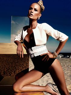 """Murphy's Law"" - Vogue Germany June 2012 - Carolyn Murphy - Christiane Arp - Alexi Lubomirski"