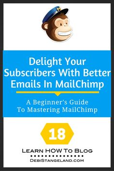 If you are running an RSS campaign, there are a few simple things you can do to create better emails in MailChimp. Don't just set it and forget it. Update your template regularly to give your subscribers helpful information as you share your excellent content. ★ Learn HOW To Blog ★