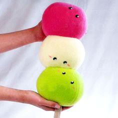 Dango Plush! #dango #dangos #kawaii #cute #plush #plushies #merch #merchandise #japan #japanese #kawaiimerch #kawaiimerchandise