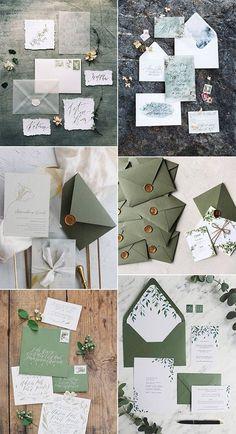 Sage Green Wedding Ideas for 2020 Trends trending greenery wedding invitations Green Wedding Invitations, Wedding Invitation Wording, Wedding Pins, Wedding Trends, Wedding Ideas, Wedding Albums, Wedding Cards, Sage Green Wedding, Inexpensive Wedding Venues