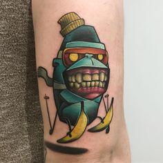 Tattoo artist Josh Peacock color authors new school tattoo   UK