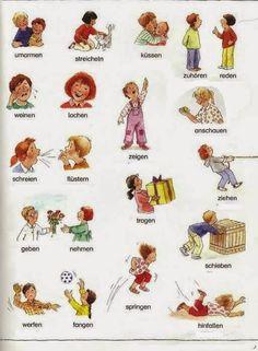 Lern Deutsch - Aprender Alemán - Learn German by madelinem German Grammar, French Grammar, German Words, German Resources, French Resources, German Language Learning, Learn A New Language, How To Speak French, Learn French
