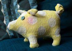 BYM.de-Selbermacher: Glücksbringer - bym.de ein kuscheliges Schweinchen