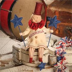 Yankee Doodle Dandy by Dee Foust on TheHolidayBarn.com $48.50  ONE LEFT!