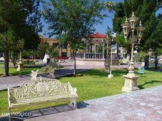 La plaza de Sabinas Hidalgo .