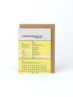 PAPIER TIGRE   Carte postale