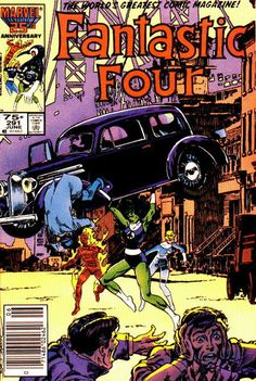 Fantastic Four #291 Marvel Comics  Auction your comics on http://www.comicbazaar.co.uk