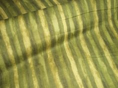 Green stripe from the Hand Dyes range  for Makower 100% cotton UK seller by FABRICSAGOGO on Etsy