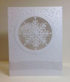 Marianne's cards 'n stuff: White Christmas