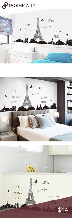 Bedroom Home Decor Removable Paris Eiffel Tower Ar Bedroom Home Decor Removable Paris Eiffel Tower Art Decal Wall Sticker Mural Other