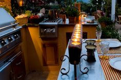 How to create an outdoor kitchen space