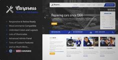 Download and review of CarPress - WordPress Theme For Mechanic Workshops, one of the best Themeforest Retail themes {Download & review at|Review and download at} {|-> }http://best-wordpress-theme.net/carpress-mechanic-workshops-download-review/