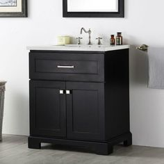 """You'll love the 30"""" Single Vanity Set at Wayfair - Great Deals on all Home Improvement products with Free Shipping on most stuff, even the big stuff."""