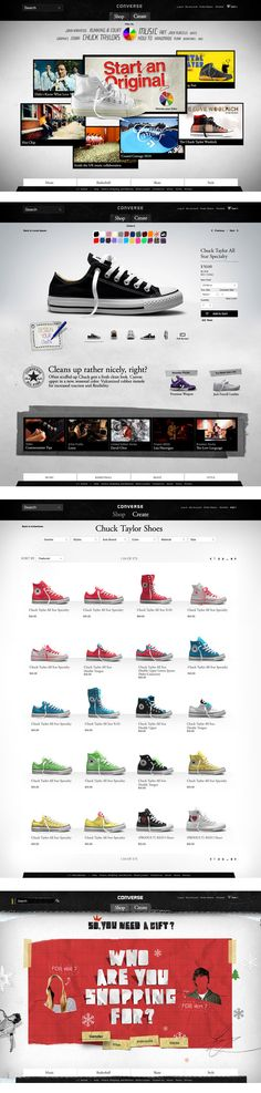 converse.com - a great redesign of the converse site