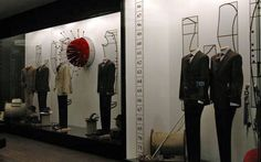 The Scabal, Istanbul, Turkey, made-to-measure, note the pin cushion, pinned by Ton van der Veer