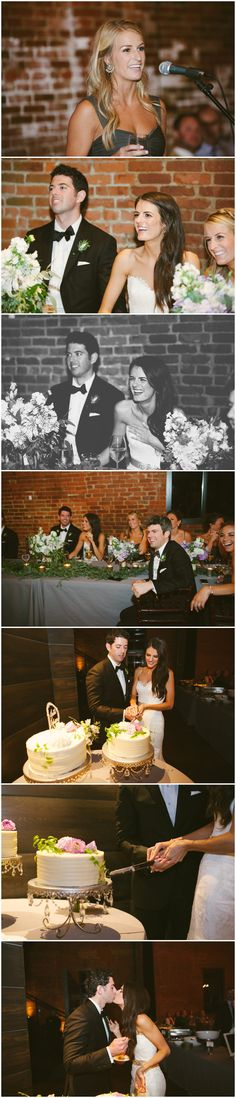 Wedding reception details. High Line Car House. Columbus Ohio Wedding Photography. Ashley West Photography.