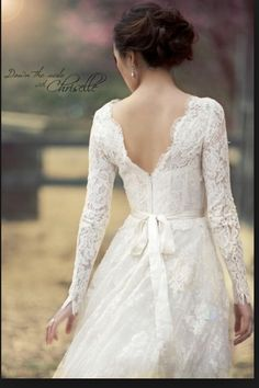 Rustic open lace back