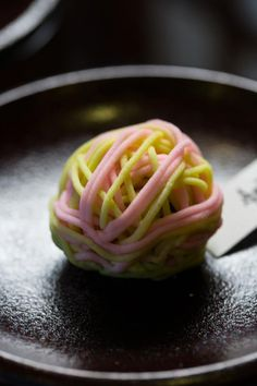 A 'Banquet of Flowers' confection from wagashi shop Juko in Kyoto