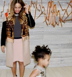 Blue Ivy Photobombs Beyonce - Cute Blue Ivy Pictures - Elle