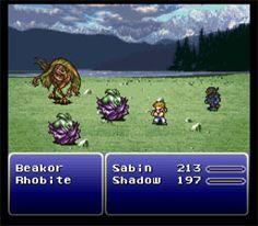 Final Fantasy 3 1994 By: SquareSoft Final Fantasy 3, Got Game, Play Online, Game Art, Finals, Video Games, Nostalgia, Color Palettes, Image