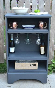 how to turn a curbside dresser into a bar how to painted furniture repurposing upcycling - June 08 2019 at Repurposed Furniture, Painted Furniture, Recycling Furniture, Repurposed Items, Refurbished Furniture, Furniture Makeover, Diy Furniture, Furniture Projects, Antique Furniture