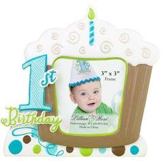 Lillian Rose 1st Birthday Frame, Blue