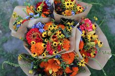 Today on the blog I'm sharing the low down on how to plan for a steady stream of beautiful market bouquets all season long. Check it out! http://www.floretflowers.com/2016/02/making-market-bouquets/  #farmerflorist #market #flowers #retail