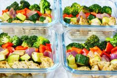 Eat Clean Meal Prep Made Simple: Roasted Chicken and Veggies! | Clean Food Crush