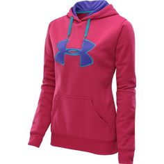 Women's Under Armour Fleece Storm Printed Big Logo Hoody (X-large) « Clothing Impulse