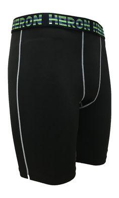 HERON BLACK TACKLE PANTS  SIDE1   #soccer   #polypropylene  #fitness  #sportswear  #sports #pants #innerwear Heron, Gym Men, Sportswear, Soccer, Fitness, How To Wear, Pants, Black, Fashion