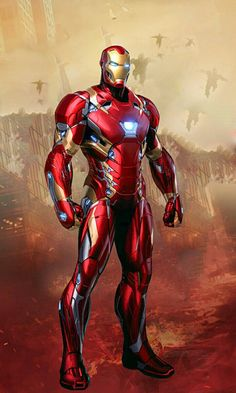 Infinity War Iron Man Fan Art Hur Iron Man Avengers Marvel