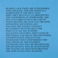 """artist Jenny Holzer - Her """"Inflammatory Essays"""", a series of 15 (more?) posters the artist produced between 1979 and 1982, were pasted on walls throughout heavily populated areas of New York City."""