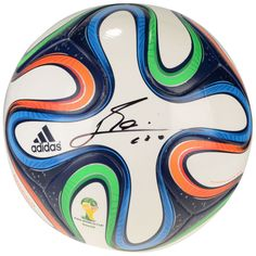 Lionel Messi Argentina Fanatics Authentic Autographed World Cup Brazuca  Soccer Ball -  729.99 Lional Messi 22117631a8aa5