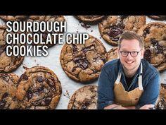 Sourdough Chocolate Chip Cookies - The Boy Who Bakes Sourdough Starter Discard Recipe, Sourdough Recipes, Sourdough Bread, Make Chocolate Chip Cookies, Tray Bakes, Cookie Recipes, Sweet Tooth, Chips, Snacks