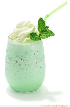 Skinny Shamrock Shake Recipe