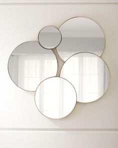 Calista Wall Mirror at Neiman Marcus Mirror Decor Living Room, Wall Decor, Bedroom Decor, Kitchen Lighting Design, Round Mirrors, Dream Decor, Interior And Exterior, Interior Design, Living Room Designs
