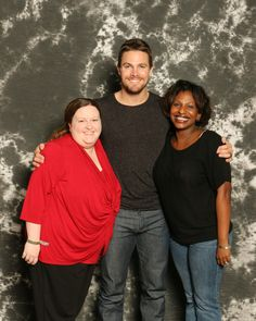 Stephen Amell and friends ;-P