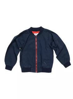 Boyswear // Canvas Bomber Jacket