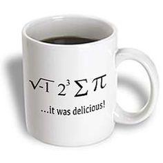 I Ate Sum Pi it Was Delicious Math Humor Mathematics Math Teacher Ceramic Mug, Cute Mugs, Funny Mugs, Teacher Appreciation Gifts, Teacher Gifts, Math Humor, Friend Birthday Gifts, Science, Math Teacher, Nurse Gifts