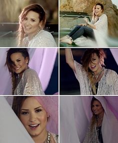 Demi Lovato in somebody to you video out now by the vamps