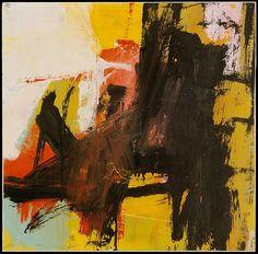 Franz Kline (1910–1962), Black Reflections, 1959, Oil  | The Metropolitan Museum of Art