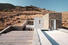 Cycladic Island Dreaming at Rocksplit Villa by Cometa Architects