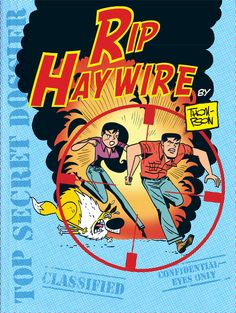 Rip Haywire by Dan Thompson: The Adventure Comic Strip is Back! Rip Haywire is a soldier of fortune, a brave, square-jawed man of honor who lives for danger. Accompanied on adventures of chance by his cowardly dog TNT and his venomous ex-girlfriend Cobra, Rip tracks down lost treasure, takes down madmen and takes on any job that promises heart-pounding action, peril and intrigue! And, of course, humor. | http://gocomics.com/riphaywire | #comics #adventure #soldier | © Dan Thompson